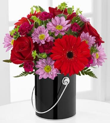 The Color Your Day with Intrigue™ Bouquet
