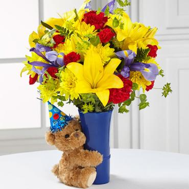 Big Hug® Birthday Bouquet